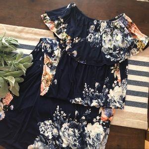 Floral Multi wear maxi dress